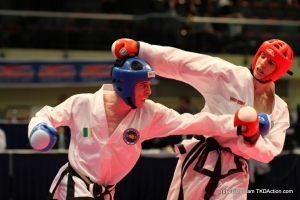 ITF Taekwon-Do Sparring