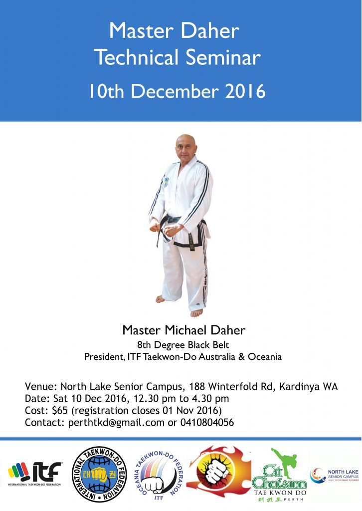 Master Daher Technical Seminar Perth